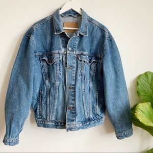 Levi's Vintage Boxy Unisex Trucker Jeans Jacket M